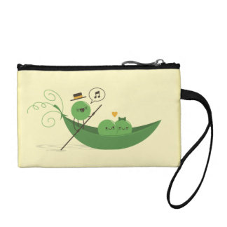 cute yellow Cosmetic Bag