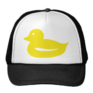 cute yellow duckling duck mesh hat
