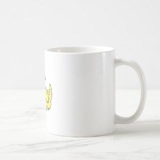 Cute Yellow Monster Mug