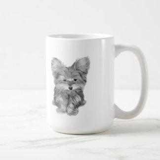 Cute Yorkie Dog Coffee Mug