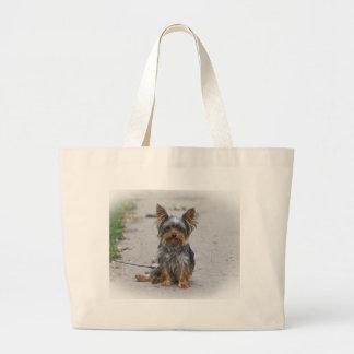 Cute Yorkie Jumbo Tote Bag