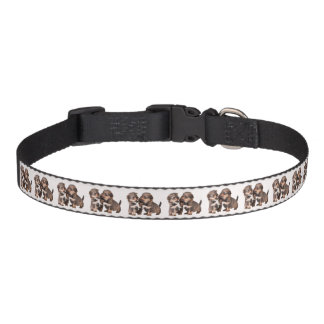 Cute Yorkshire Puppies Pet Collar