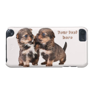 Cute Yorkshire Terrier Puppies iPod Touch 5G Covers
