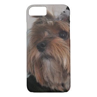 Cute Yorkshire Terrier Puppy Dog iPhone 7 Case