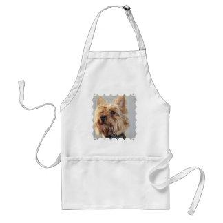 Cute Yorkshire Terrier Standard Apron