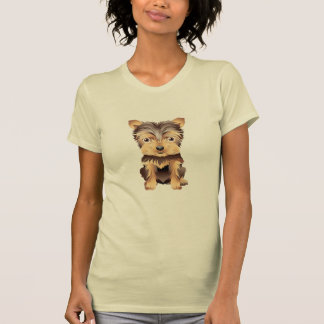 Cute Yorky Dog  Apparel T-shirts
