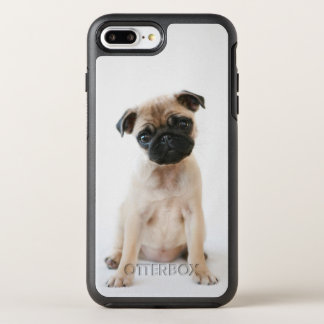 Cute Young Pug Dog OtterBox Symmetry iPhone 8 Plus/7 Plus Case