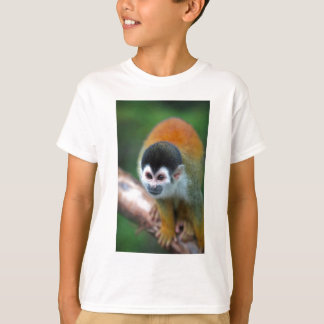 Cute young squirrel monkey shirts