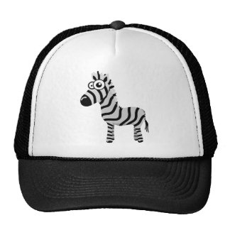 Cute zebra cap