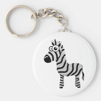 Cute zebra key chains