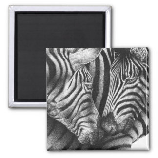 Cute Zebra Magnet