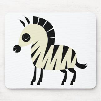 Cute Zebra Mousepad