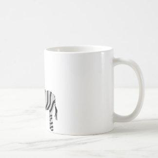 Cute zebra mug