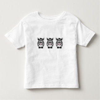 Cute Zebra Toddler T-Shirt