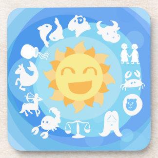 Cute Zodiac Coaster Set