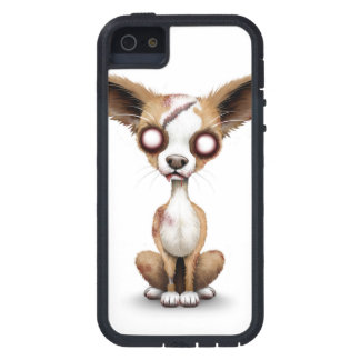 Cute Zombie Chihuahua Puppy Dog White Tough Xtreme iPhone 5 Case