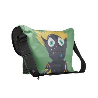 Cute Zombie Messenger Bag