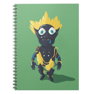 Cute Zombie Photo Notebook (80 Pages B&W)