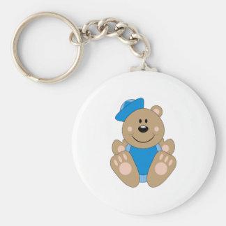 Cutelyn Baby Boy Sailor Bear Key Chain