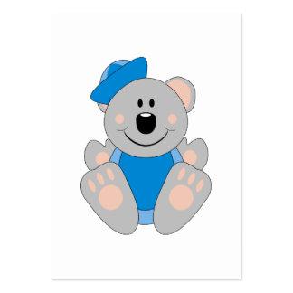 Cutelyn Baby Boy Sailor Koala Bear Pack Of Chubby Business Cards