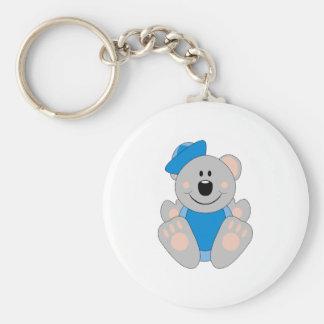 Cutelyn Baby Boy Sailor Koala Bear Key Chain