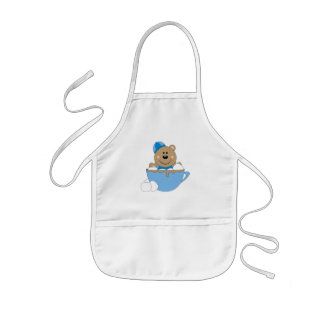 Cutelyn Baby Boy Snow Bear Mug Kids Apron