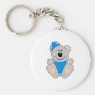 Cutelyn Baby Boy Snow Koala Bear Keychains