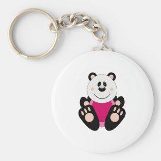 Cutelyn Baby Girl Panda Bear Keychains