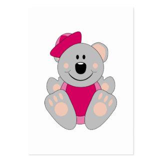 Cutelyn Baby Girl Sailor Koala Bear Pack Of Chubby Business Cards