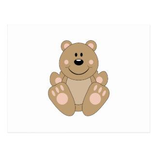 Cutelyn Brown Bear Post Card