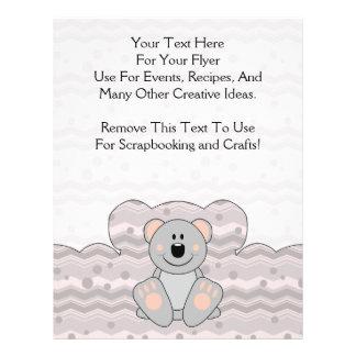 Cutelyn Koala Bear Custom Flyer