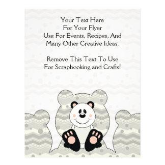 Cutelyn Panda Bear 21.5 Cm X 28 Cm Flyer