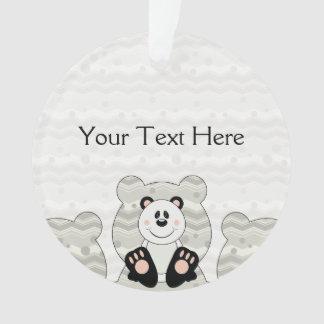 Cutelyn Panda Bear Ornament
