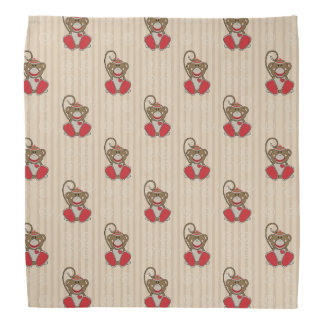 Cutelyn Sock Monkey Bandana