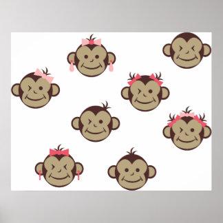CuteMonkey6 Print