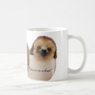 """""""Cuteness in a Bowl"""" Sloth Mug"""