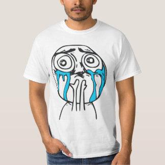 Cuteness Overload Cute Rage Face Meme Tshirt