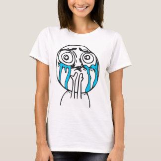 Cuteness Overload Rage Face Meme T-Shirt