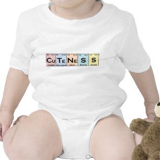 CuTeNeSS periodic elements baby romper
