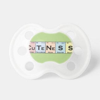 CuTeNeSS periodic elements binky Pacifier