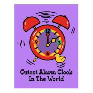 Cutest Alarm Clock Post Cards