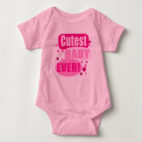 Cutest Baby Ever Baby Bodysuit