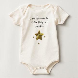 Cutest Baby Girl-Kimberly Baby Bodysuits