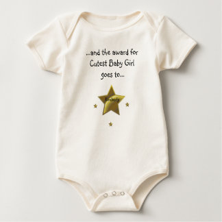 Cutest Baby Girl-Kimberly Baby Bodysuits