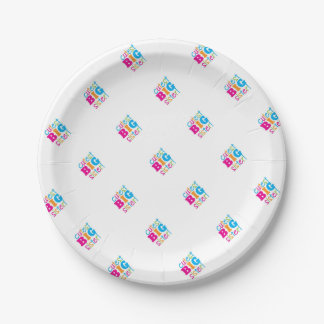 CUTEST BIG SISTER 7 INCH PAPER PLATE