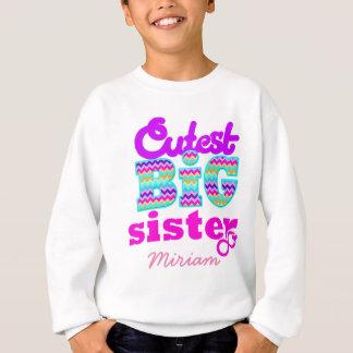Cutest Big Sister Custom Name - Tshirts