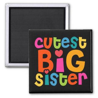 Cutest Big Sister Refrigerator Magnet