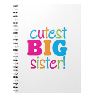 CUTEST BIG SISTER NOTEBOOK