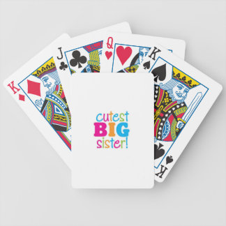 CUTEST BIG SISTER POKER DECK