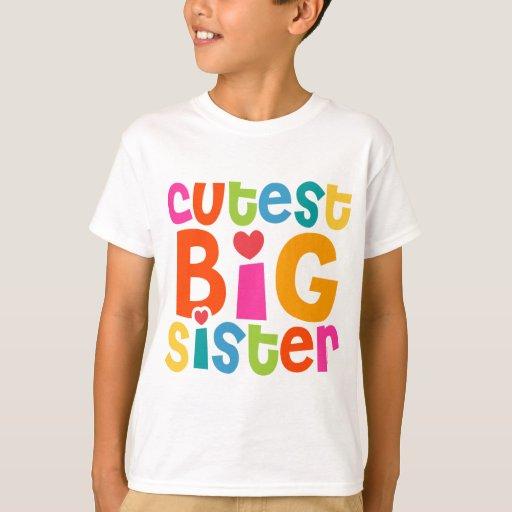 Cutest Big Sister T-Shirt